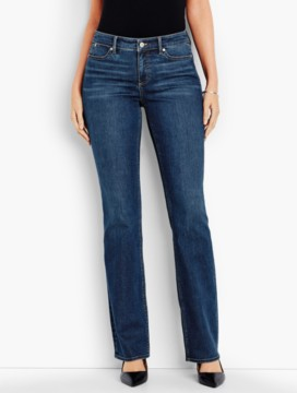 The Flawless Five-Pocket Bootcut-Curvy/Americana Wash