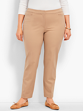 Talbots Hampshire Ankle Pant-Bi-Stretch