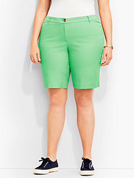 "9"" Twill Short-Fashion Colors"