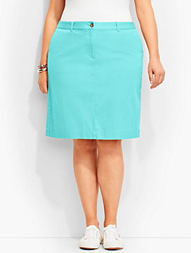 Weekend Twill Skirt