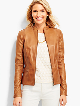 Luxe Leather Jacket