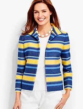 Morgan Stripe Jacket