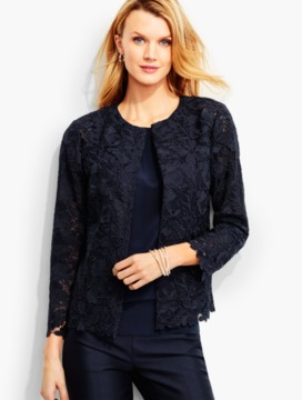 Flower & Leaf Lace Jacket
