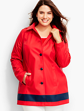 Womans Classic Raincoat