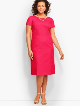 Lightweight Twill A-Line Dress