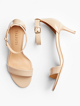 Trulli Ankle-Strap Sandals-Patent Leather