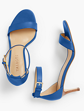 Trulli Ankle-Strap Sandals-Smooth Leather