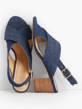 Trisha City Sandals-Denim