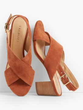Trisha City Sandals-Suede