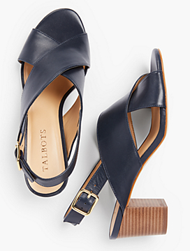 Trisha City Sandals-Vachetta Leather