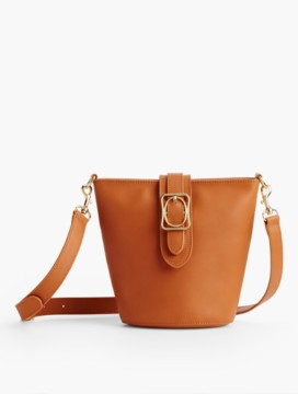 Square & Oval Bucket Bag - Vachetta Leather