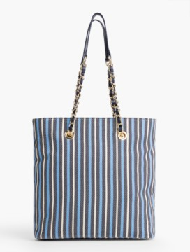 Awing-Stripes Tote