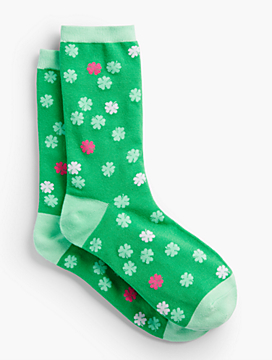 Clover Pop Trouser Socks