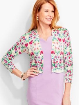 Classic Dress Shrug-Flower Medley