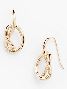 Sculpted Knot Earrings