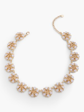Sparkle Flower Necklace