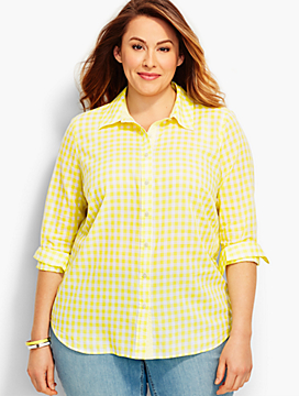 The Classic Casual Shirt-Gingham Fresh Checks