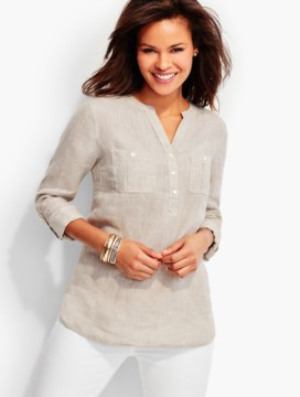 The Linen Camp Shirt