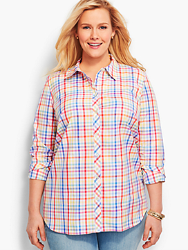 The Classic Casual Shirt - Confetti Gingham