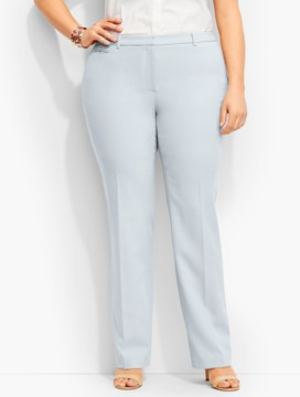 Luxe Italian Double-Weave Subtle-Bootcut Trouser-Newport Collection