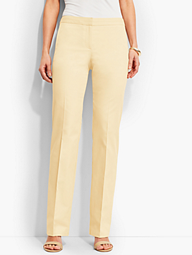 Lightweight Twill Trouser Pants-Lined