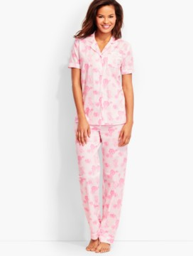Morning Rose Pajama Set