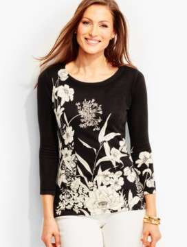 Flowing Lily Sweater
