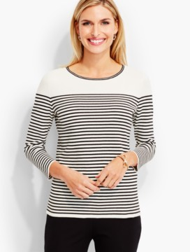 Regatta-Stripe Sweater