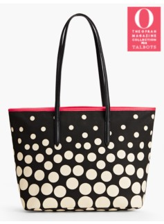 Mixed-Dot Tote