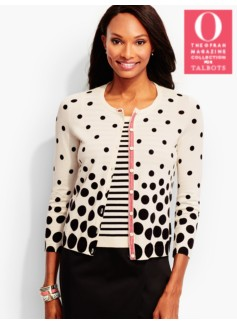 Charming Cardigan-Mixed-Dot