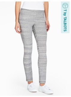 Yoga Pant-Grey Space-Dyed