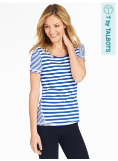 Fresh Jersey Tee - Striped