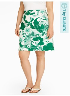 Twilight Botanical Woven Skirt