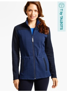 Quilted Jacquard Jacket