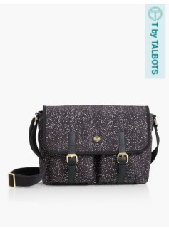 T by Talbots Satchel - Dot Print