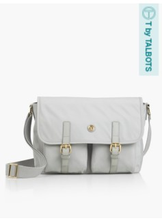 T by Talbots Satchel - Ash Grey