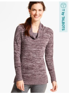 Relaxed Cowlneck Top