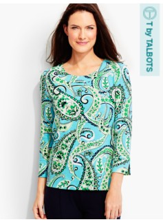 Brilliant Paisley Tee