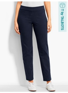 Straight-Leg Back-Pocket Pant