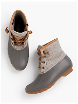 88ef8857ad68a8 Sperry® Saltwater Wool-Emboss Rubber Boots