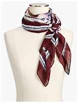 Tea Party Square Scarf