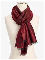 Holiday Print Scarf