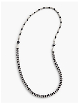 Stripe Bead Layer Necklace