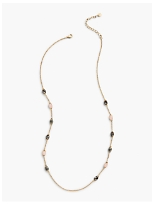 Pink & Neutral Layer Necklace