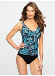 Paisley Miraclesuit� Tankini Top