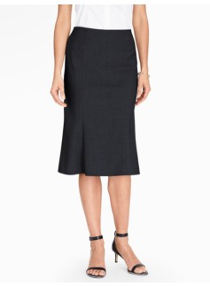 Seasonless Wool Trumpet Skirt