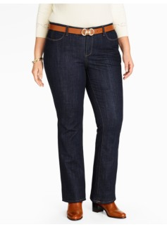 The Flawless Five-Pocket Bootcut Jean - Deep Ocean