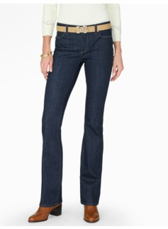 The Flawless Five-Pocket Bootcut - Deep Ocean