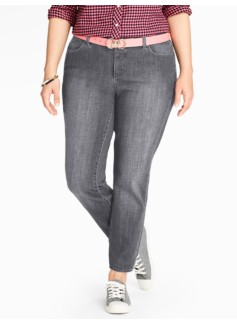 The Flawless Five-Pocket Ankle Jean - Oyster