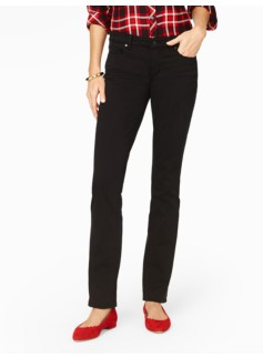 The Flawless Five-Pocket Straight-Leg Jean - Black